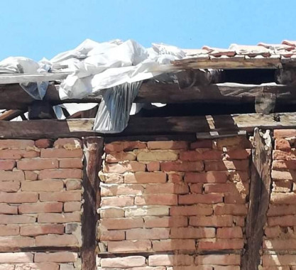 Спешна нужда от ремонт на покрив  за едно изстрадало семейство